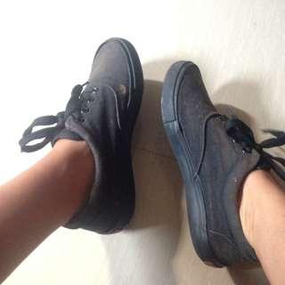 Faded Black Vans