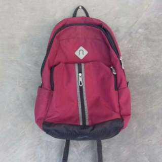 Neosack Maroon Backpack