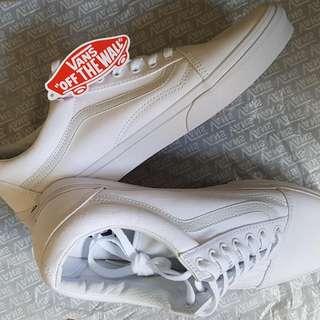 White Vans (Brand New)