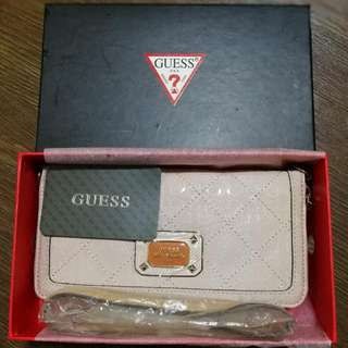 Authentic Guess Clutch/Sling Bag
