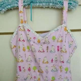 Size 12 Pink Skater Dress With Polar Bears!