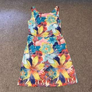 Zara Printed Work Dress