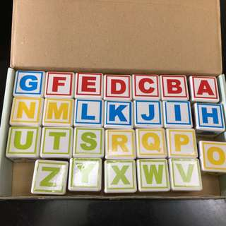 巧虎ABC方塊積木小玩家