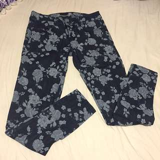 Floral Print AE Jegging