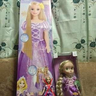 Rare Rapunzel Fairytale Friend Doll And Animators Doll Set Sale