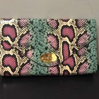 Preloved H&M Faux Snakeskin Clutch