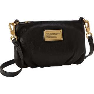 Marc Jacobs cross body black and gold