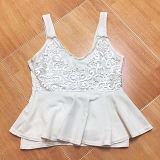White Race Sleeveless