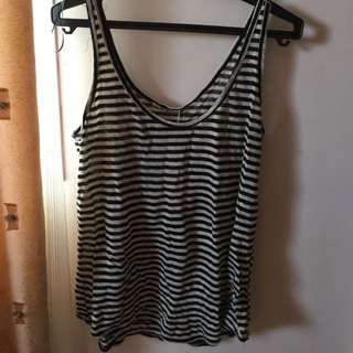 Zara Knit Stripe Tank