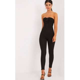 Pretty Little Thing Corset Jumpsuit