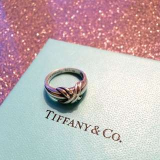 TIFFANY & CO 925 AUTHENTIC LOVE KNOT RING