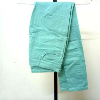 Mint Green Seed Long Pants