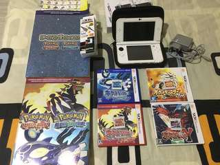 Used Nintendo 3DS LL (JAP) version and games