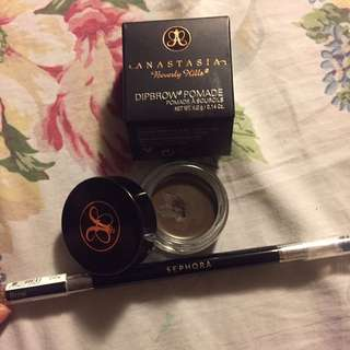 Dipbrow And Pro Brow Brush