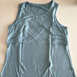 Brand New Sleeveless Nursing Top