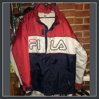 Fila Sz L Vintage Jacket