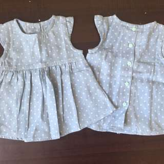 CLEARANCE STOCK! Baby Denim Dress