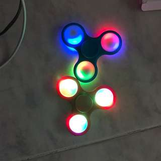 Brand New Fidget Spinners With Led Lights