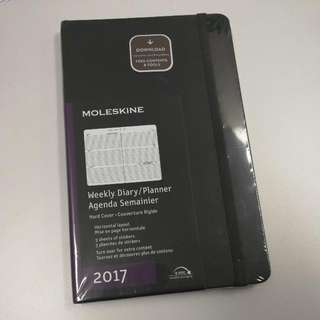 Moleskine Weekly Diary/Planner Hard Cover