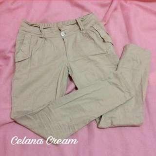 Celana Cream Wanita