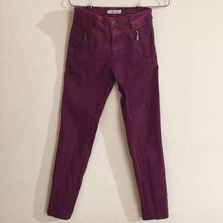 Triset Maroon Pants