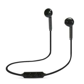 #Summer40 Wireless Bluetooth Sports Headset For Android And IPhone   Black