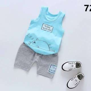 Lil'Beau baby kids clothes boy suit terno 1-7yrs old 72056