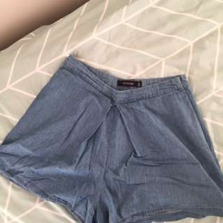 GLASSONS DENIM SHORTS // Size 8