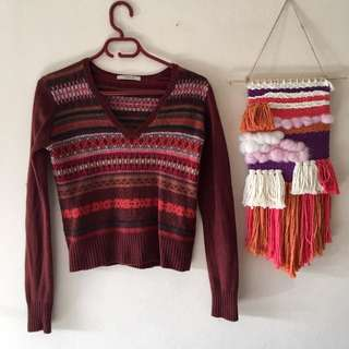 Country Road Knitted Jumper Sweater