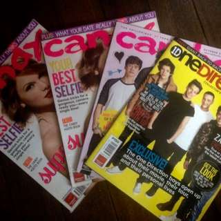 Total Girl, Preview, AugustMan, Candy Magazines