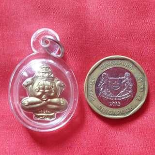 必达佛牌 Ajahn Khun Pan Phra Pidta Phra Rahu Rian 2544