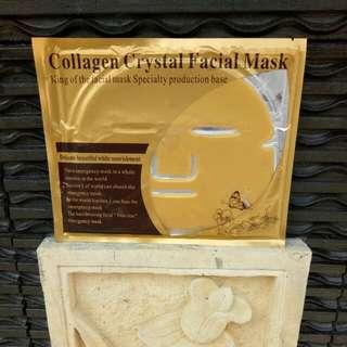 Masker Collagen White,  Black,  Gold *NO FREE ONGKIR*