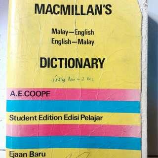 Dictionary Malay To English/Engkish To Malay