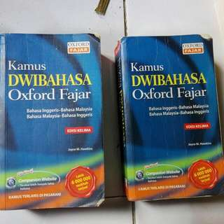 Oxford Fajar ENGLISH To Malay Edisi 5