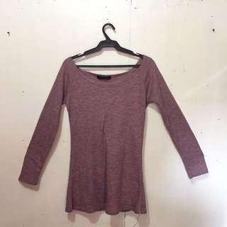 Off Shoulder Sweater (unbranded)
