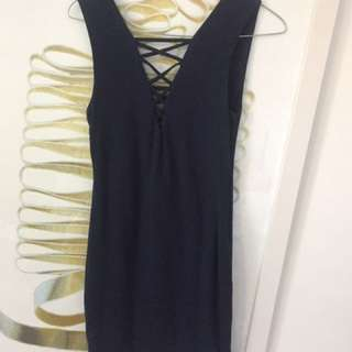 NAVY KOOKAI DRESS