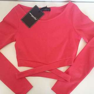 Missguided Coral Crop