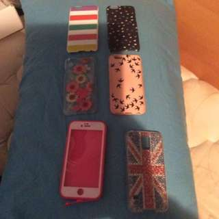 IPhone 6s Cases And 1 Samsung Galaxy S5 Case
