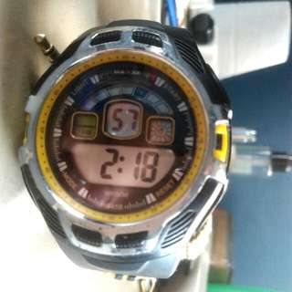 Maxxe Steel Digital Watch