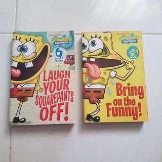 Thea Stilton, Horrible Science/history & Spongebob Books