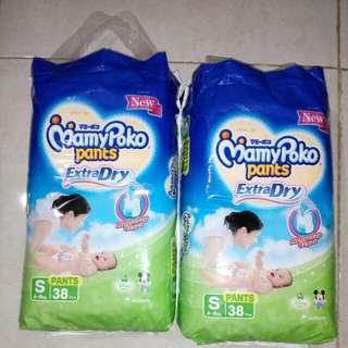 Pampers Mamy poko size S