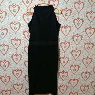 Oval Neck Dress