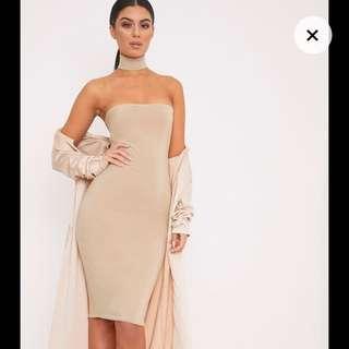 Bandeau Choker Dress