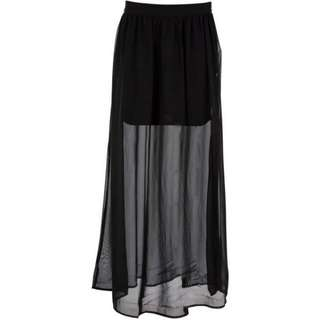 Double Layer H&M Maxi Skirt