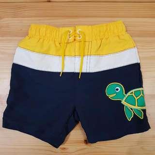MOTHERCARE kids like new boys swim shorts 12-18m with net inside.