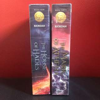 FREE SF Books 3 & 4 of The Heroes of Olympus