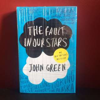 FREE SF The Fault in Our Starts HARDBOUND