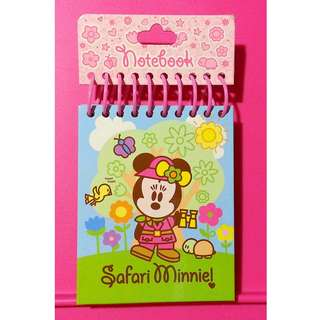 [CLEAR] HongKong Disneyland Minnie Notepad