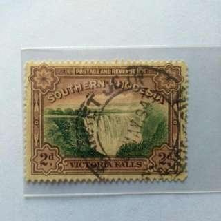 Southern Rhodesia 2d Stamp / Setem