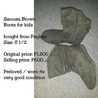 Brown Gamuza Boots